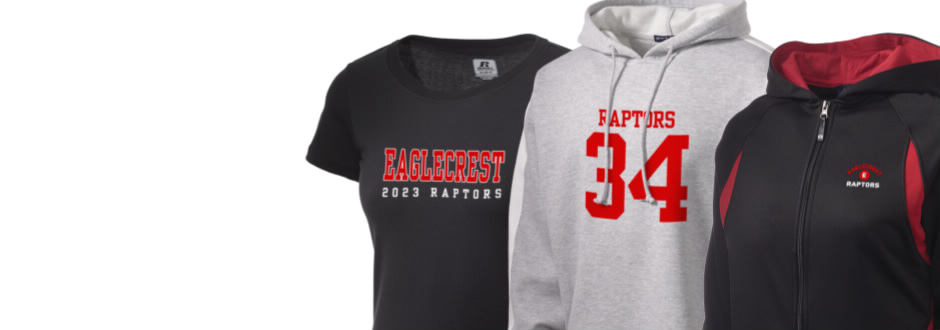 Eaglecrest High School Raptors Apparel