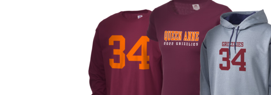 Queen Anne High School Grizzlies Apparel