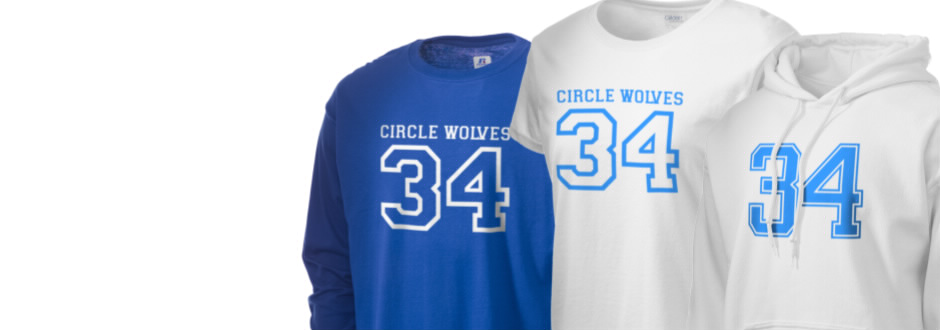 Circle School Circle Wolves Apparel
