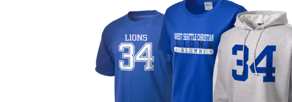 West Seattle Christian School Lions Apparel