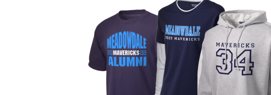 Meadowdale High School Mavericks Apparel