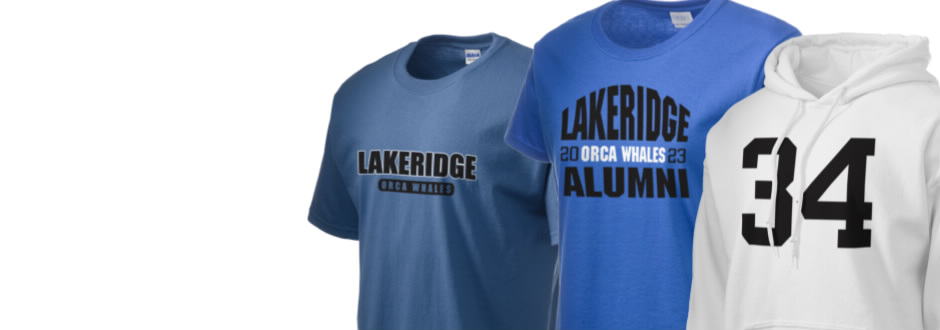 Lakeridge Elementary School Orca Whales Apparel