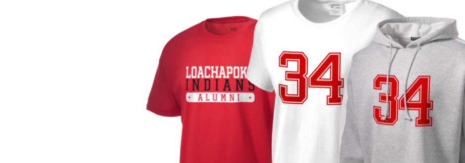 Loachapoka School Indians Apparel