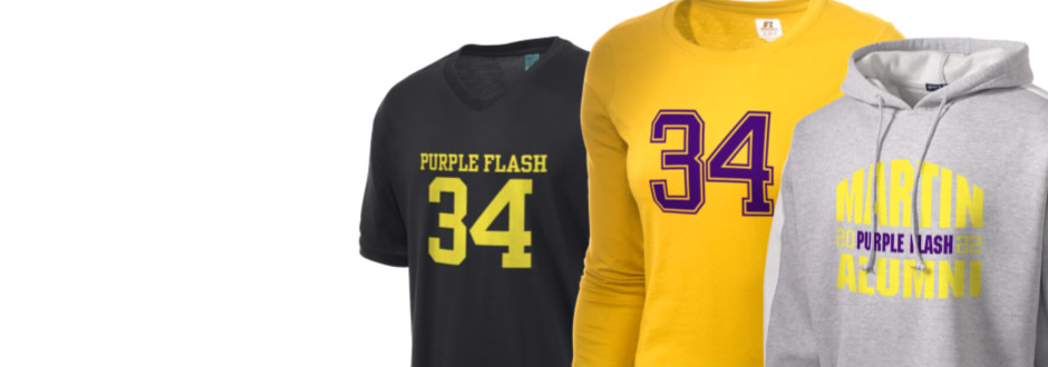 Martin High School Purple Flash Apparel