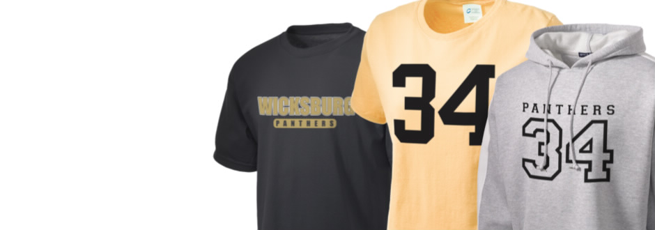 Wicksburg Elementary & High School Panthers Apparel