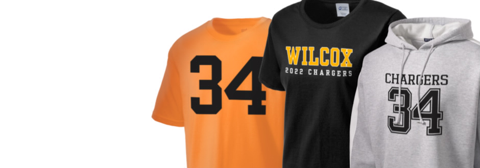 Wilcox High School Chargers Apparel