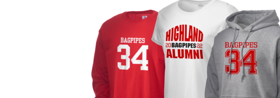 Highland Elementary School Bagpipes Apparel