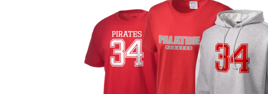 Palatine High School Pirates Apparel