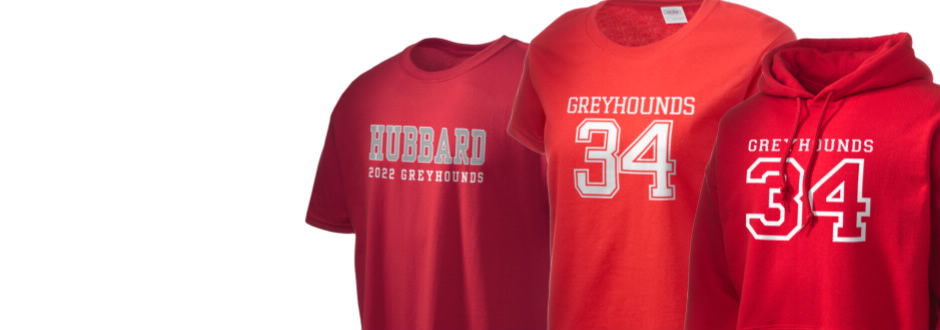 Hubbard High School Greyhounds Apparel