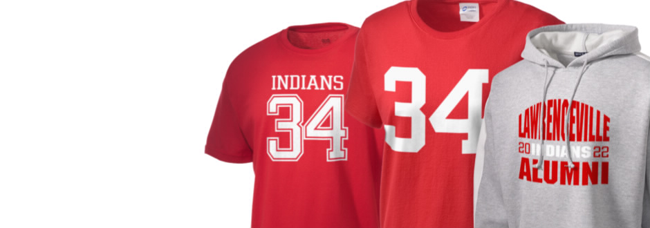 Lawrenceville High School Indians Apparel