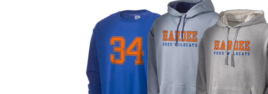 Hardee Junior High School Wildcats Apparel