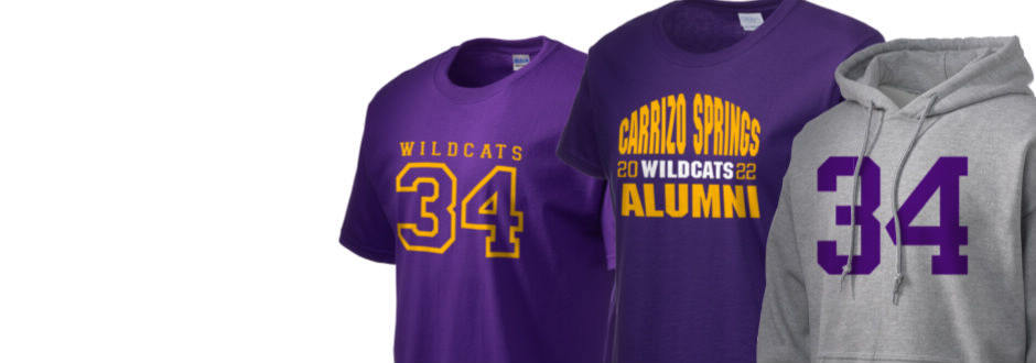 Carrizo Springs High School Wildcats Apparel
