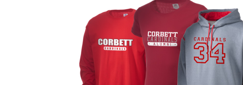 Corbett Middle School Cardinals Apparel