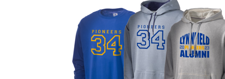 Lynnfield Middle School Pioneers Apparel