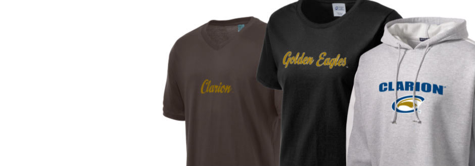 Clarion University of Pennsylvania Golden Eagles Apparel