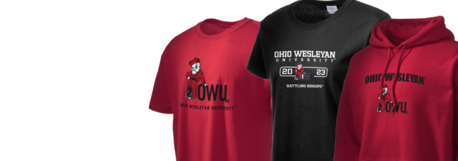 Ohio Wesleyan University Battling Bishops Apparel