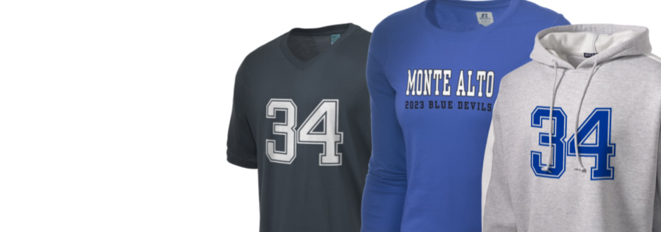 Monte Alto Junior High School Blue Devils Apparel