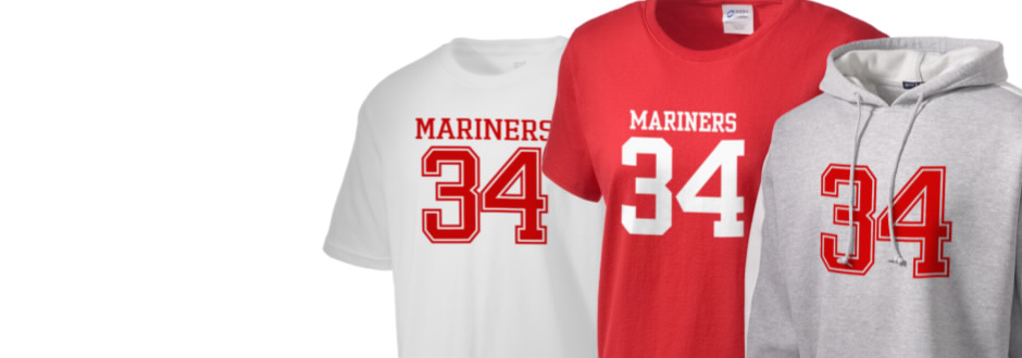 Albert Monroe Middle School Mariners Apparel