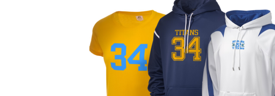 Luther Burbank High School Titans Apparel