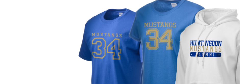 Huntingdon High School Mustangs Apparel