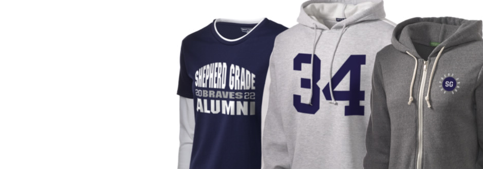 Shepherd Grade Center Braves Apparel