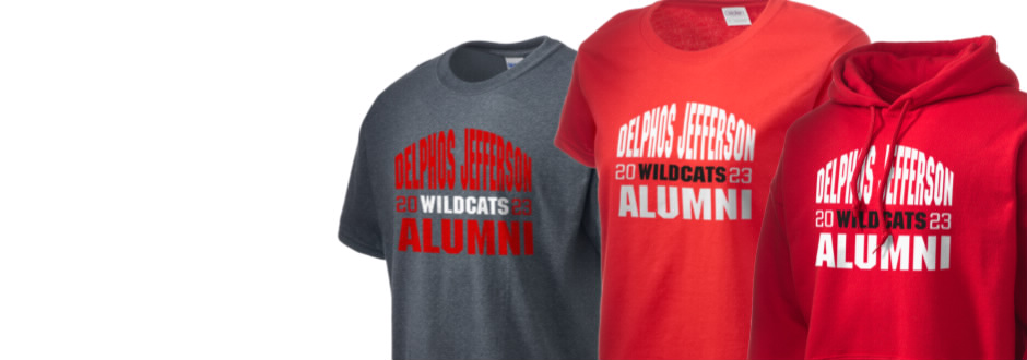 Delphos Jefferson Middle School Wildcats Apparel