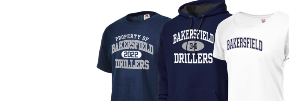 Bakersfield high school drillers apparel store prep T shirt outlet bakersfield ca