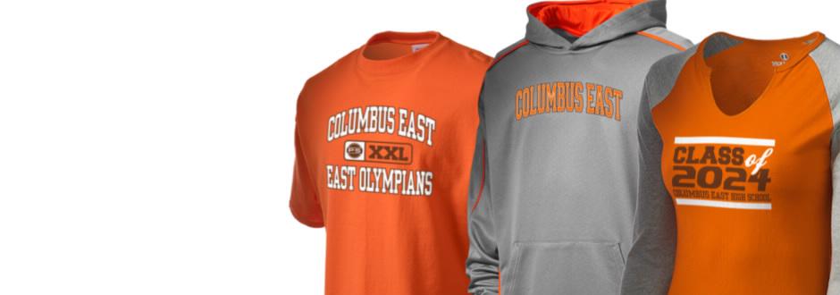 Columbus East High School East Olympians Apparel Store