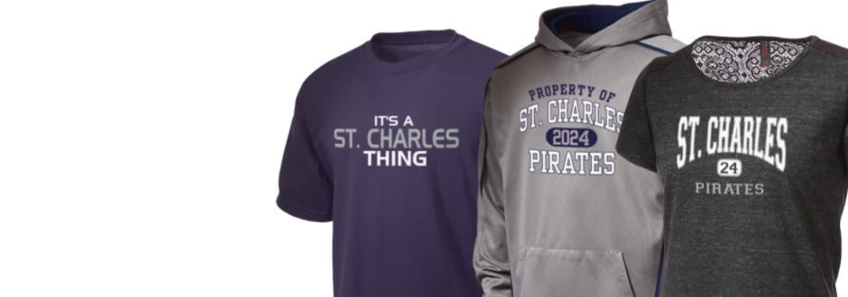 Saint charles high school pirates apparel store prep for T shirt printing st charles mo