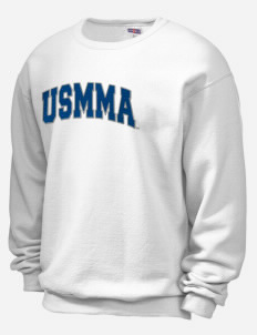 Kings Point Mens Crew Neck Hoodie Fleece Sweatshirt Hooded Sweatshirt United States Merchant Marine Academy