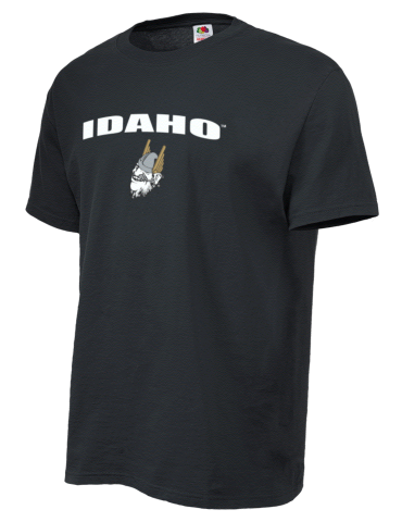 95d28e66b University of Idaho Vandals Fruit of the Loom Men's 5oz Cotton T-Shirt