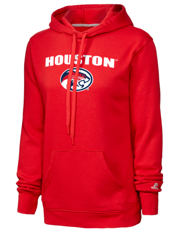 05f0648299a University of Houston Cougars Russell Athletic Women's Hooded ...
