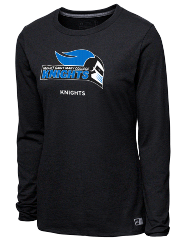 a6ffb812dfad Mount Saint Mary College Knights Russell Athletic Women s Long ...