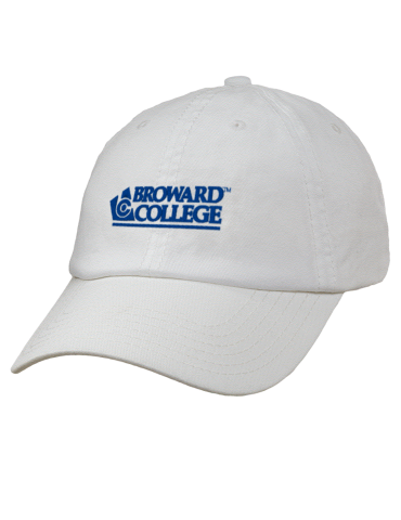 c89e369764f Broward College Seahawks Embroidered Garment Washed Twill Vintage ...