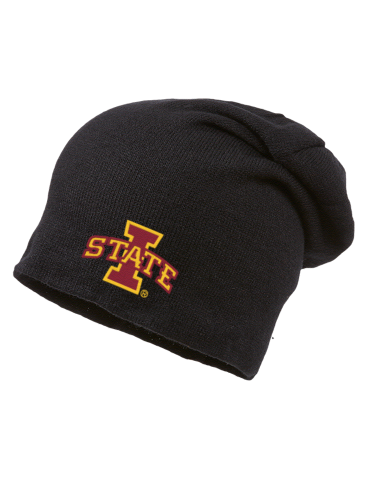 55f42541883 Iowa State University Cyclones Embroidered Slouch Beanie