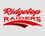 495202bbe Ridgetop Junior High School Raiders Embroidered Infant Contrast Trim Terry  Bib