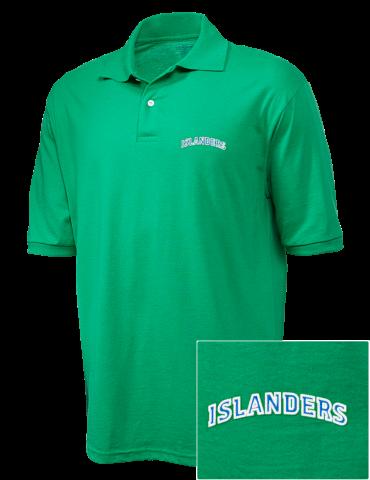 finest selection 10b4c 689eb Texas A&M University-Corpus Christi Islanders Embroidered JERZEES Men's  SpotShield™ Jersey Polo Shirt