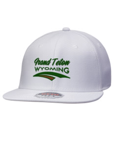 Grand Teton National Park Wyoming Hats - Stretch Fit Caps