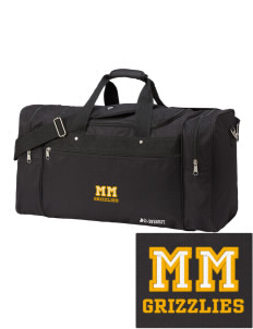 d5ffeb077463 Mackenzie Mountain School Grizzlies  Duffle Bags
