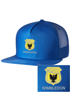 eb89b2ae Embroidered Five Panel Pro Style Mesh Back Cap