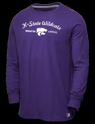 05cf092d832e Kansas State University Wildcats Russell Athletic Men's Long Sleeve ...