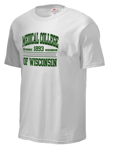 Medical College of Wisconsin Fruit of the Loom Men's 5oz Cotton T-Shirt