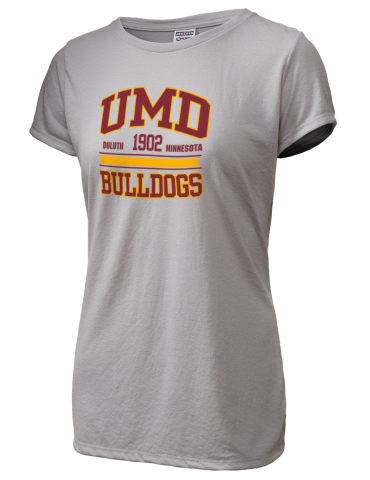 University of Minnesota Duluth Bulldogs JERZEES Women s Dri-Power Sport T- Shirt 09d46d54c