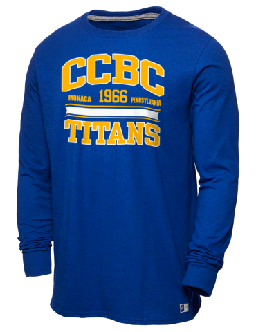 Community College of Beaver County Titans Russell Athletic Men's Long  Sleeve T-Shirt