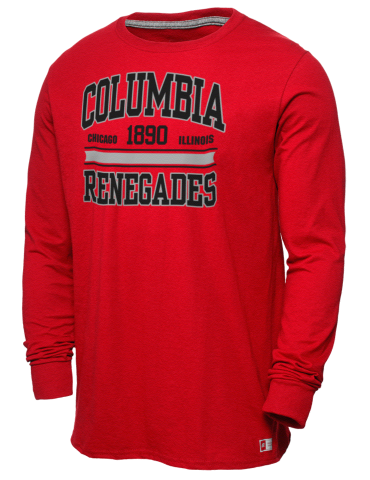 3e28a2bdf Columbia College Chicago Renegades Russell Athletic Men's Long ...