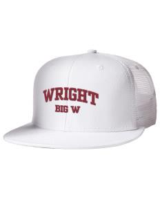 Wright Elementary School Big W Hats - Snapback