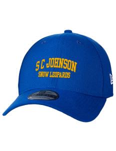 S C Johnson Elementary School Snow Leopards New Era Hats