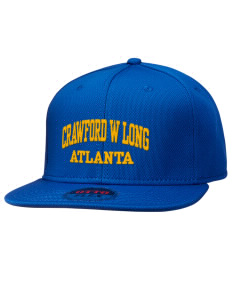 Crawford W Long Middle School Atlanta Hats - Stretch Fit Caps