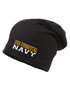 USS Forrestal Navy Hats - Beanies 59850148a6c