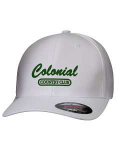 Colonial Country Club Golf Hats - Stretch Fit Caps  7f096c772d6